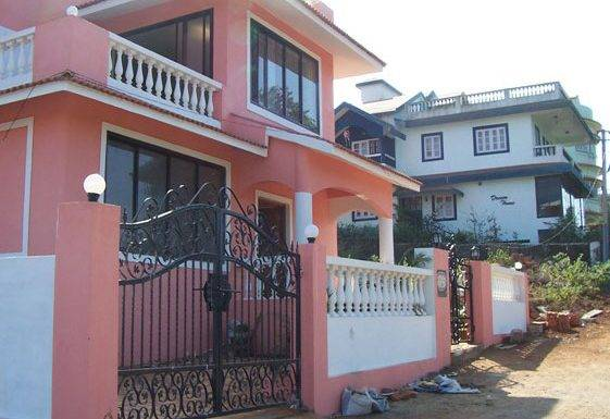 Water Villa Front View Goa