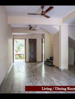Affordable Goa Villas Living Room
