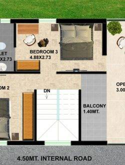 2BHK 3BHK Apartment Plan